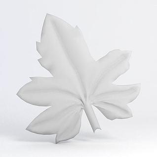 树叶3d模型