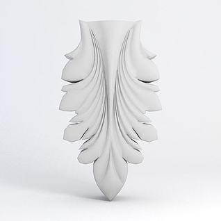 雕花3d模型