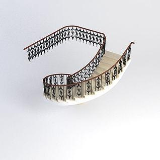 楼梯模型3d模型