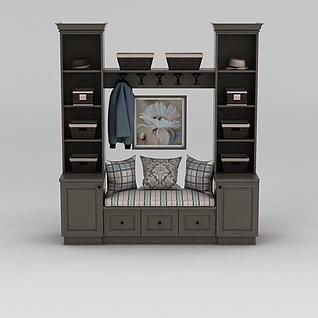 飘窗柜3d模型