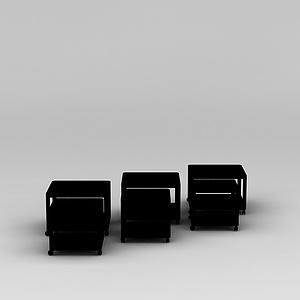 套装茶几模型3d模型