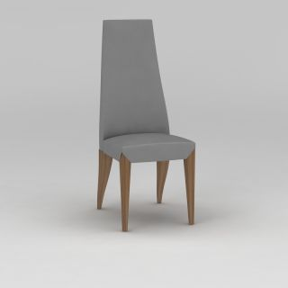 高背<font class='myIsRed'>餐椅</font>3d模型