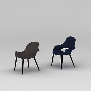 休闲椅3d模型3d模型