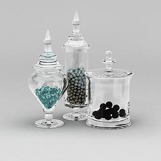 玻璃器皿3d模型