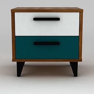 小边柜3d模型