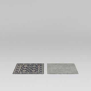 室内地毯3d模型