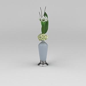 3d<font class='myIsRed'>花瓶</font>擺設模型