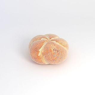 花式面包3d模型