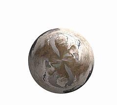 冬季星球模型3d模型