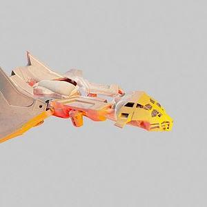 3d宇宙飞船模型