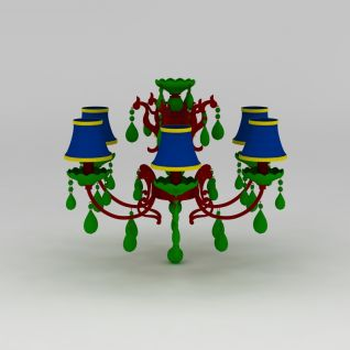 欧式灯3d模型