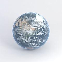 3D模型地球