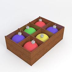 圣诞球3D模型3d模型