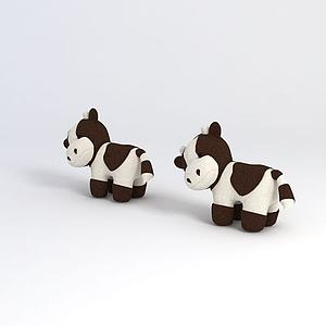 小奶牛模型