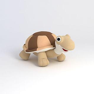 小乌龟3d模型