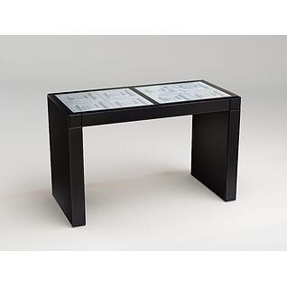 创意桌子3d模型