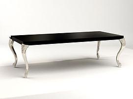 简欧桌子3D模型