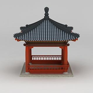 亭子3d模型