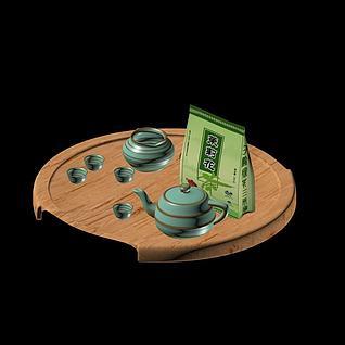 陶瓷茶具3d模型