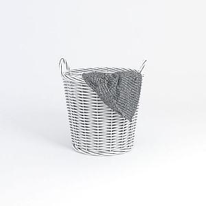 衣物收纳筐模型