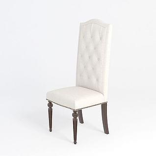 简欧椅子3d模型