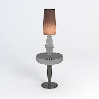 台灯3d模型
