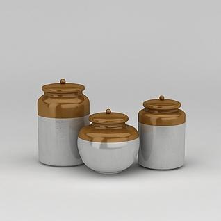 陶瓷器皿3d模型