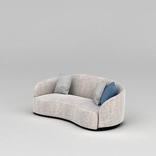软包沙发3d模型3d模型