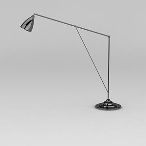 长杆台灯模型
