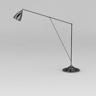 长杆台灯3d模型