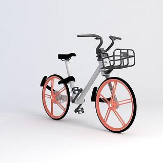 摩拜单车模型3d模型