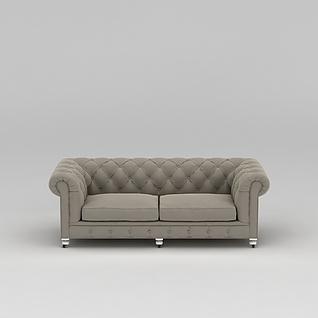 简欧沙发3d模型3d模型