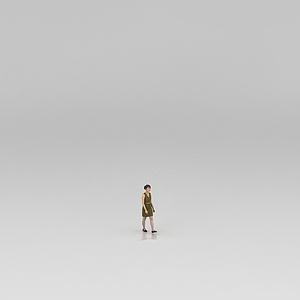 3d女人模型