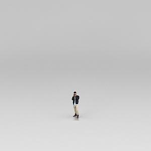 时尚男孩模型3d模型