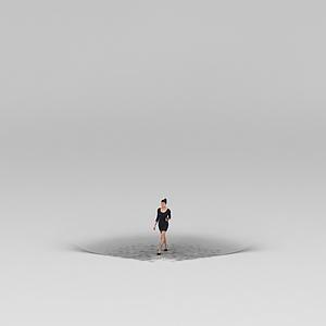 女人模型3d模型
