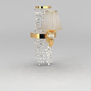 奢華壁燈模型3d模型