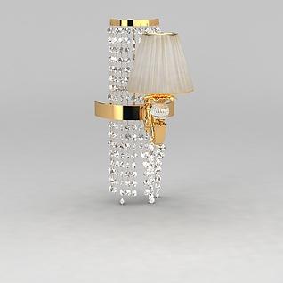 奢华壁灯3d模型