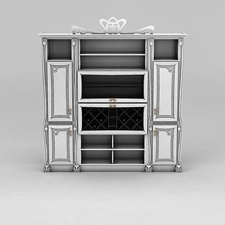 餐边柜3d模型