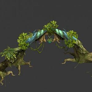 游戏植物模型