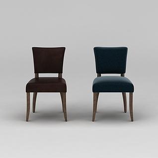 餐椅3d模型3d模型