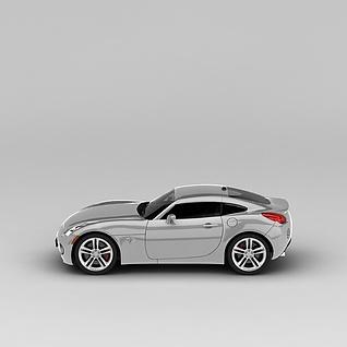 庞蒂克汽车3d模型