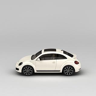 复古汽车3d模型3d模型