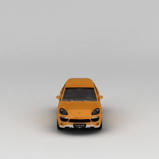 黄色汽车3d模型3d模型