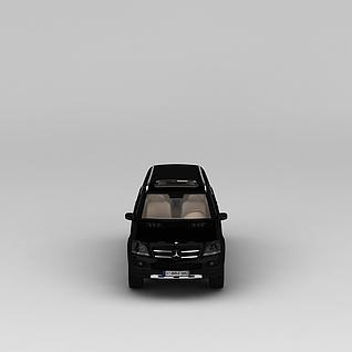 奔驰商务车3d模型