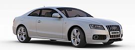 奥迪银色<font class='myIsRed'>汽车</font>3d模型