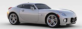 庞蒂克<font class='myIsRed'>汽车</font>3d模型
