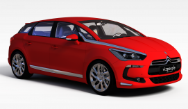红色<font class='myIsRed'>汽车</font>3d模型
