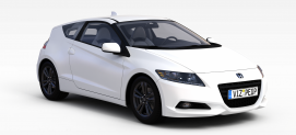 白色本田<font class='myIsRed'>汽车</font>3d模型