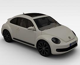 复古<font class='myIsRed'>汽车</font>3d模型