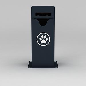 3d垃圾箱模型